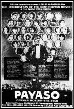 Payaso (1986) afişi