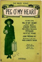 Peg o' My Heart (1933) afişi