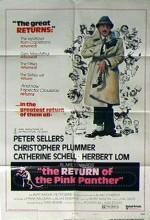 Pembe Panterin Dönüşü (1975) afişi