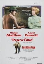 Pete 'n' Tillie (1972) afişi