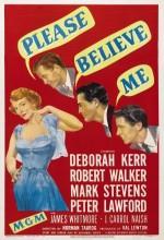 Please Believe Me (1950) afişi