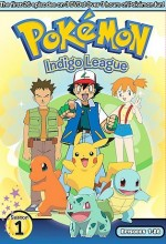 Pokemon 1. Sezon Indigo League (1998) afişi