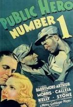 Public Hero #1 (1935) afişi