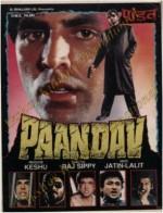 Paandav (1995) afişi
