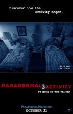 Paranormal Activity 3 (2011) afişi