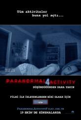 Paranormal Activity 4 (2012) afişi