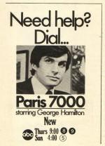 Paris 7000 (1970) afişi