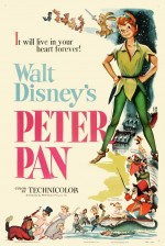 Peter Pan (1953) afişi