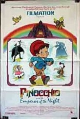 Pinocchio and the Emperor of the Night (1987) afişi