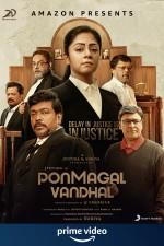 Ponmagal Vandhal (2020) afişi