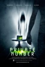 Private Number (2014) afişi