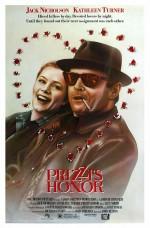 Prizzi'lerin Onuru (1985) afişi