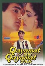 Qayamat Se Qayamat Tak (1988) afişi