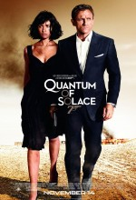 Quantum of Solace (2008) afişi