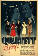 Quartett Zu Fünft (1949) afişi