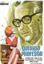 Querido Profesor (1966) afişi