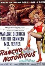 Rancho Notorious (1952) afişi