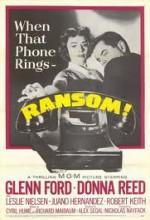 Ransom! (1956) afişi