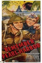 Remember Pearl Harbor (1942) afişi