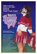 Return To Horror High (1987) afişi