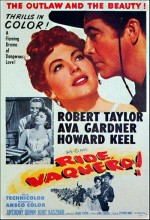 Ride, Vaquero! (1953) afişi