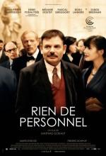 Rien De Personnel (2009) afişi