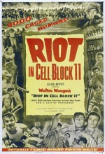 Riot in Cell Block 11 (1954) afişi