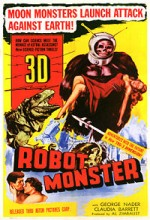 Robot Monster (1953) afişi
