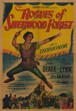 Rogues Of Sherwood Forest (1950) afişi
