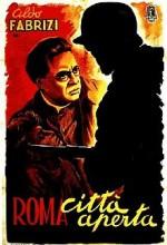 Roma, Açık Şehir (1945) afişi