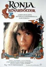 Ronja: Haydut Kızı (1984) afişi