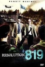 Résolution 819 (2008) afişi