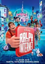 Ralph ve İnternet: Oyunbozan Ralph 2 (2018) afişi