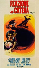 Reazione A Catena (1971) afişi