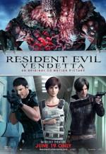 Resident Evil: Vendetta (2017) afişi