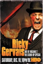 Ricky Gervais: Out of England 2 - The Stand-Up Special (2010) afişi