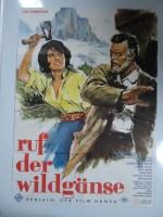 Ruf der Wildgänse (1961) afişi