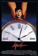 Saatler Sonra (1985) afişi