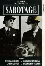 Sabotaj (1936) afişi