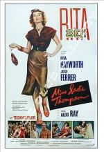 Sadie Thompson (1928) afişi