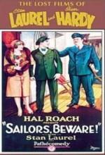 Sailors, Beware! (1927) afişi