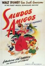 Saludos Amigos (1942) afişi