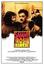 Sammy Ve Rosie İşi Pişirdi (1987) afişi