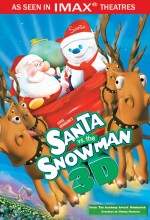 Santa Vs. The Snowman 3d Afişi