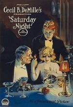 Saturday Night (1922) afişi