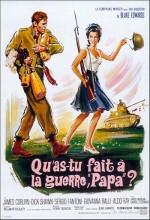 Savaşta Ne Yaptın Baba? (1966) afişi