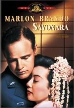 Sayonara (1957) afişi