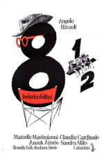 Sekiz Buçuk (1963) afişi