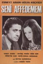 Seni Affedemem (1967) afişi