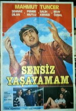 Sensiz Yaşayamam (l) (1985) afişi